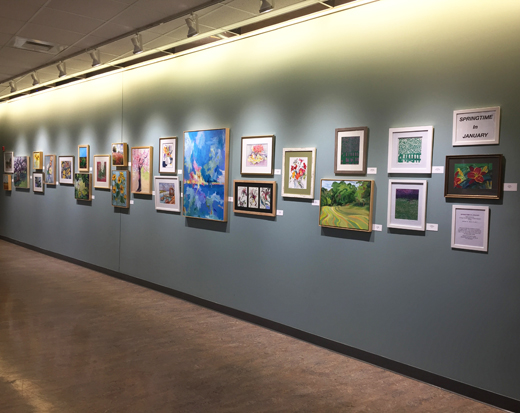 Welcome, Springtime in January Exhibit